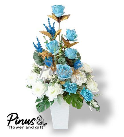 Bunga Artificial Surabaya - Peach Blueocean Artificial