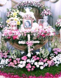 Bunga Papan Duka Cita - Coffin Flower