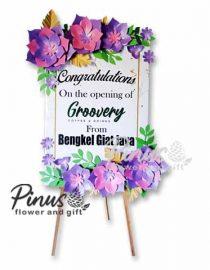 Bunga Papan Kertas - Big Salutations