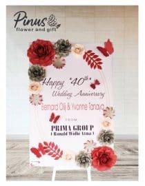 Bunga Papan Kertas 005