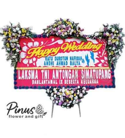 Bunga Papan - Happy Day Red