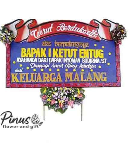 Home Bunga Papan - Condolences Golden