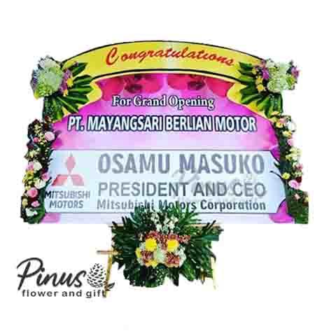 Bunga Papan - Congratulation Life