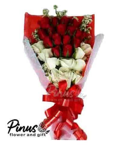 Bunga Ucapan Selamat - King Red Rose