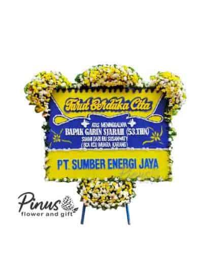 Bunga papan Jakarta - Emotions Yellow