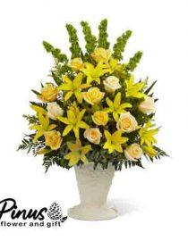 Home Bunga Meja - Mellow Yellow