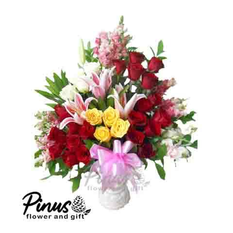 Home Bunga Meja - Stunning Roses