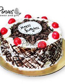 Kue Tart Surabaya - 8Chery And Chocolate Tart