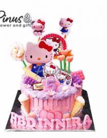 Kue Tart Surabaya - Hello Kitty Soft Magic