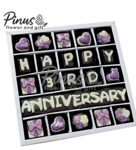 Hampers - Deluxe Anniversary Violet