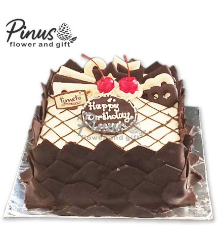 Kue Tart Surabaya -Time To Chocolate Tart