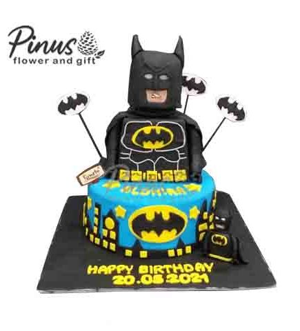 Kue Tart Surabaya - Batman Tart