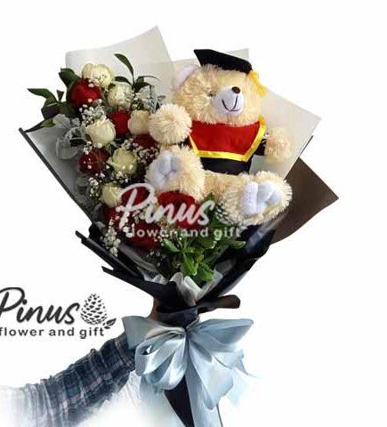 Bunga Ucapan Selamat - Happy Graduation Bouquet