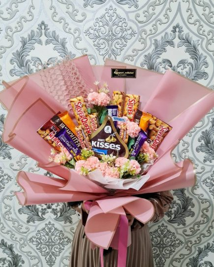 Anniversary Gift - Chocolate Snack Bouquet