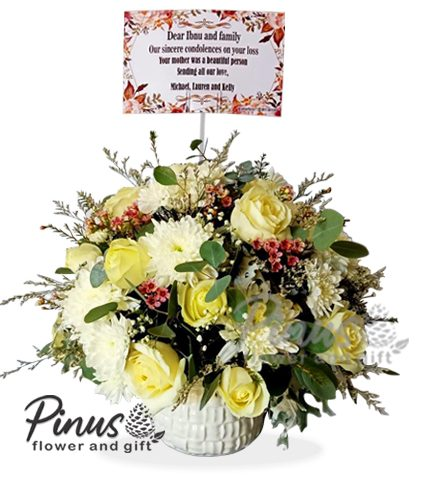 Bunga Meja Surabaya - Table Bouquet Import Flower