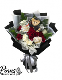 Bunga Ucapan Selamat - Celebrating Graduation With Teddy
