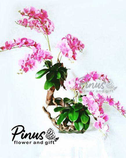 Bunga Artificial Surabaya - Orchid Elegan Artificial